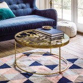 Graham and Green Gold Butterfly Coffee Table