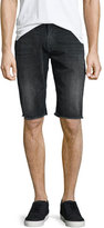 True Religion Ricky Washed Cutoff Shorts, Night Galaxy