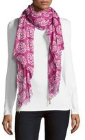 Buji Baja Printed Cotton Scarf