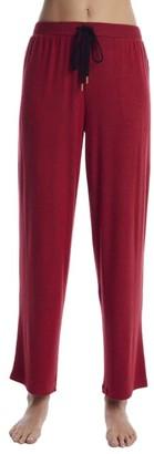 Donna Karan Red Storm Knit Lounge Pants