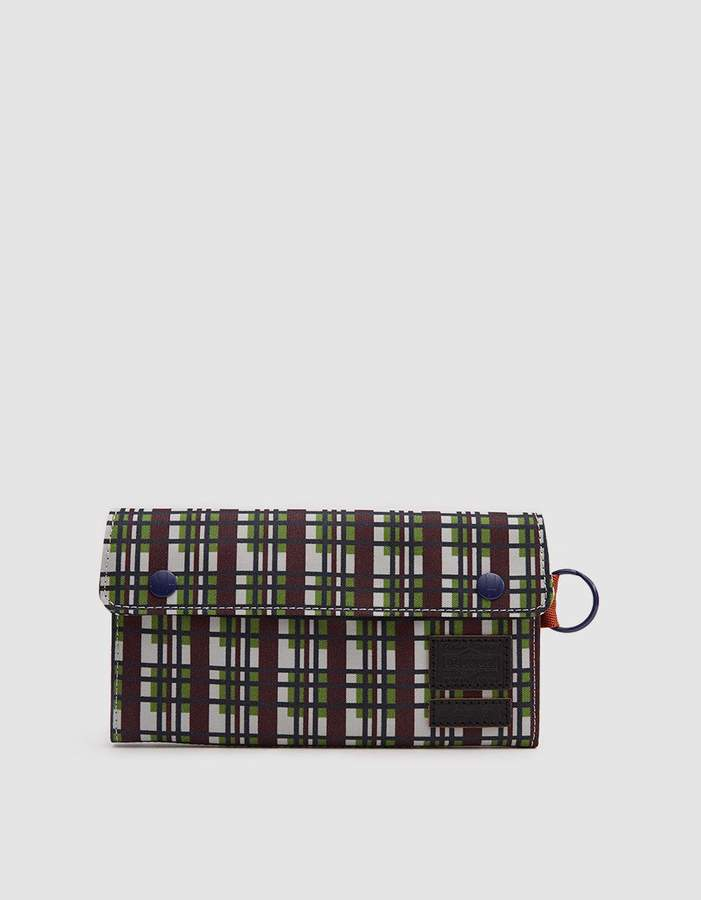 Marni Porter-Yoshida Long Wallet in North Sea