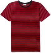 Saint Laurent Slim-Fit Striped Cotton-Jersey T-Shirt