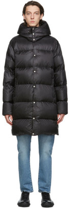Holubar Black Down Long Mustang BU15 Coat