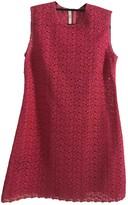 Prada Pink Lace Dress for Women