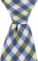 """Class Club Gold Label 12"""" Checked Tie"""