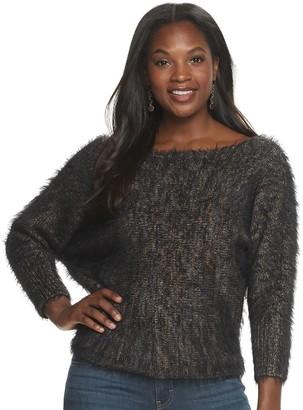 JLO by Jennifer Lopez Women's Dolman-Sleeve Sweater