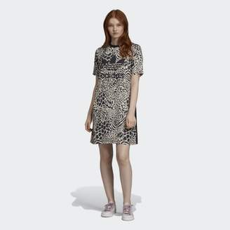 adidas Allover Print Tee Dress