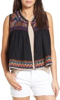 Velvet by Graham & Spencer Women's Embroidered Vest