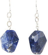 Barse Sodalite Stone Drop Earrings