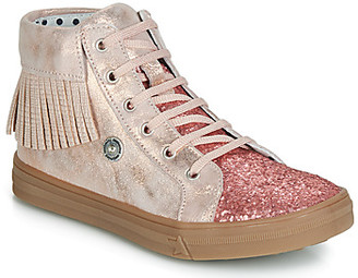 Catimini LOULOU girls's Shoes (High-top Trainers) in Pink