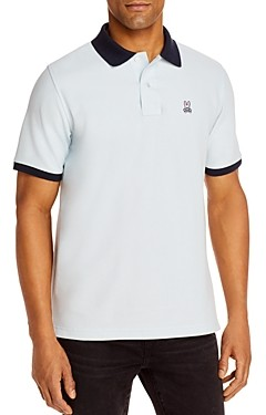 Psycho Bunny Dorset Tipped Logo Classic Fit Polo Shirt