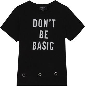 Bardot Don't Be Basic Graphic Tee