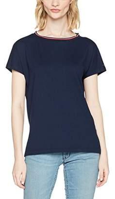 Tommy Jeans Women's Stripe Short Sleeve Crew Neck T-Shirt,Medium