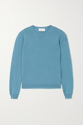 ALEXANDRA GOLOVANOFF Kawai Cashmere And Silk-blend Sweater - Blue