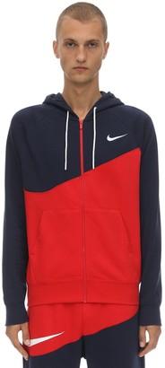 Nike Nsw Swoosh Fz Ft Cotton Blend Hoodie
