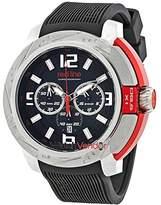 Redline Red Line Chronograph Black Dial Men's Watch 309C-01-RDA