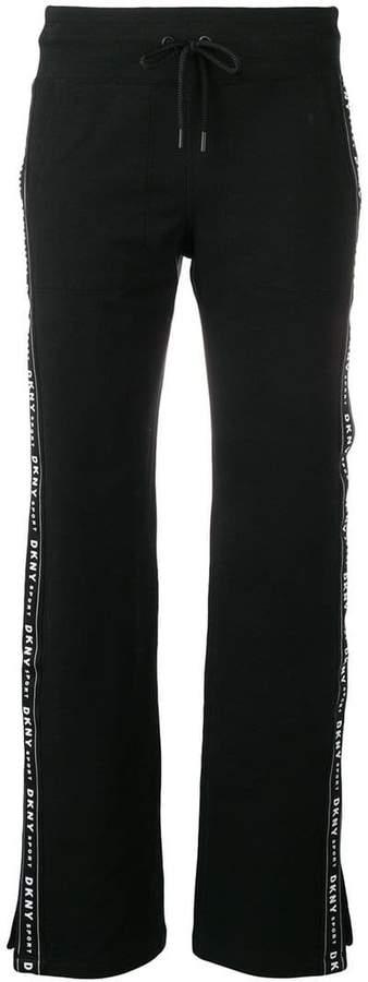 DKNY side logo track pants