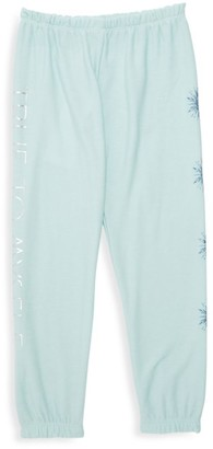 Chaser Disney's Frozen 2 Little Girl's & Girl's True To Myself Embellished Sweatpants