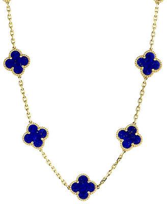Van Cleef & Arpels Heritage Certified 18K Lapis Lazuli Necklace