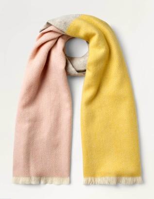 Boden Wool Herringbone Scarf
