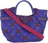 Jamin Puech grommet-embellished tote - women - Cotton/Leather/Polyester - One Size
