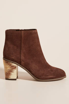 Seychelles Chocolate Suede Ankle Boots
