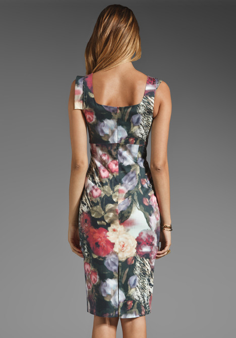 Black Halo Jackie O Dress in French Rose