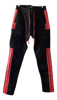 Amiri Black Polyester Jeans