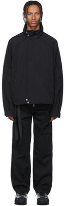 Unravel Black High Neck Jacket
