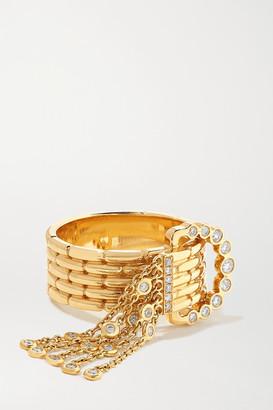 Yvonne Léon 18-karat Gold Diamond Ring - 7