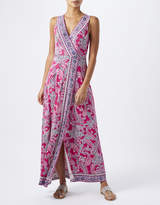 Monsoon Ellie Paisley Print Maxi Dress