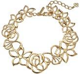 Oscar de la Renta Intertwined Floral Necklace