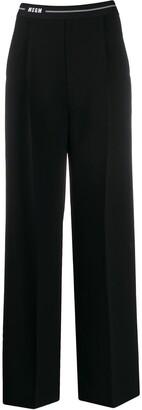 MSGM Wide-Leg Trousers