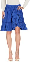 Blugirl Knee length skirts