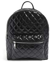 Forever 21 Quilted Zip-Top Backpack