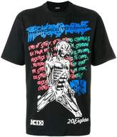 Kokon To Zai muscle lady print T-shirt