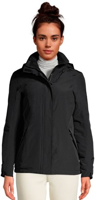 Lands' End Petite Hooded Squall Winter Jacket