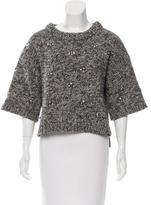 DAY Birger et Mikkelsen Embellished Short Sleeve Sweater