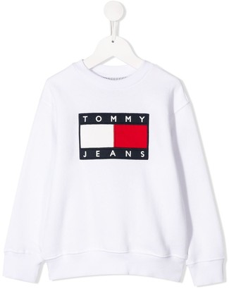 Tommy Hilfiger Junior Logo Print Sweatshirt