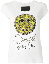 Philipp Plein smiley T-shirt - women - Cotton - XS