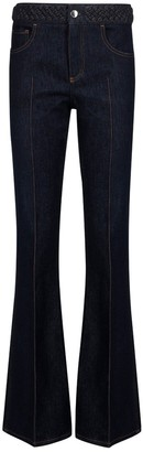 Chloé High-Waisted Flared Jeans