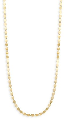 Saks Fifth Avenue Made In Italy 14K Yellow Gold Disc Chain Necklace