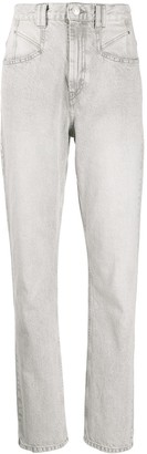 Isabel Marant Dominic high-rise slim jeans