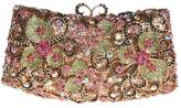Santimon Women Clutch Butterfly Lock Purse Rhinestone Evening Bags with Removable Strap