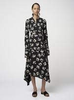 Proenza Schouler Long Sleeve Wrap Dress