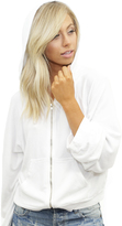 Wildfox Couture Take Me Somewhere Hide Out Hoodie in Clean White