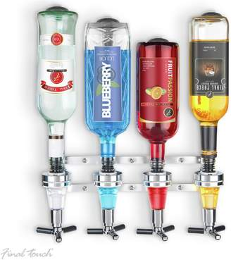 Final Touch 4 Bottle LED Wall Mounted Drinks Dispenser