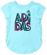 adidas Girls 4-6x) Graphic Logo Tee