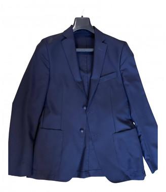 Officine Generale Blue Wool Jackets