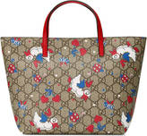 Gucci Children's GG ducks tote